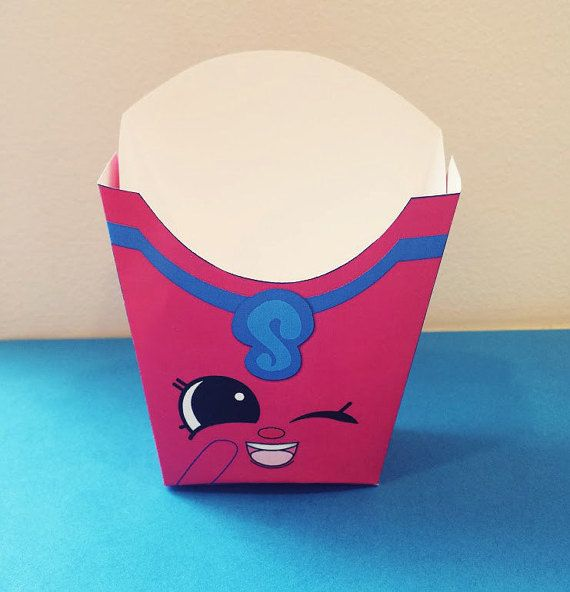 3.75 Pink Fiona Fries French Fry Box Season 3 por SuperCraftDee