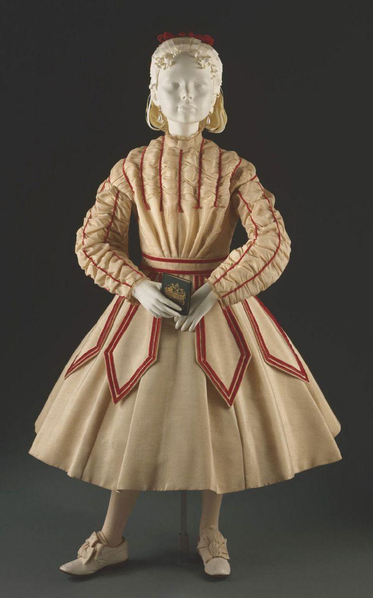 Child's dress  circa 1867-68. Philadelphia Museum of Art