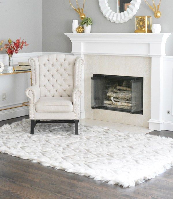 10 Best Sheepskin Rug Living Room
