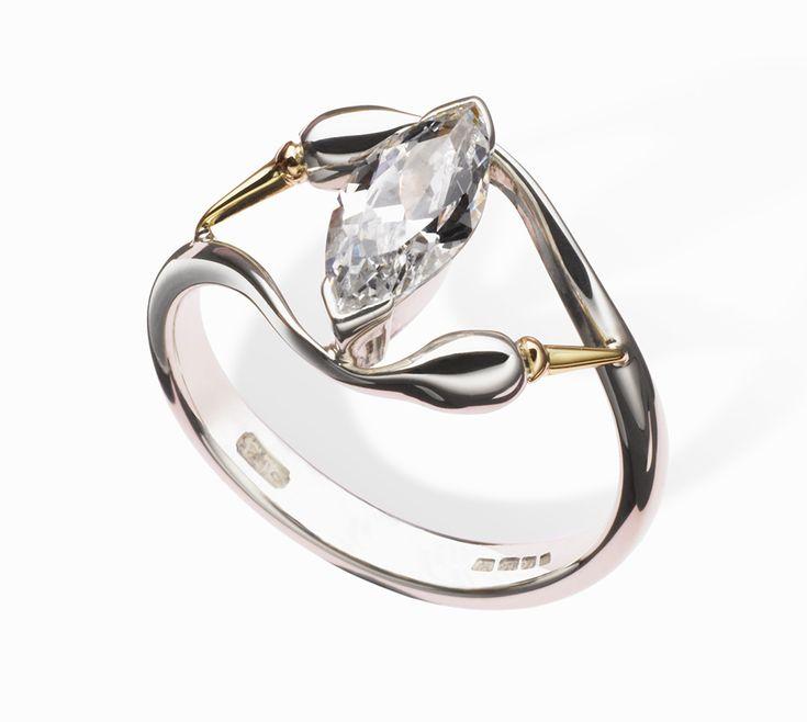 Erica Sharpe Swan Ring