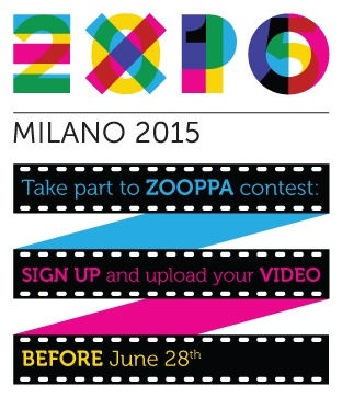 Until June 28, 2013 you can participate in the #videocontest by #Expo2015 on #Zooppa creating a video about #ExpoMilano2015 and its theme: #FeedingThePlanetEnergyForLife  and having the chance to win a prize of 10000 dollars