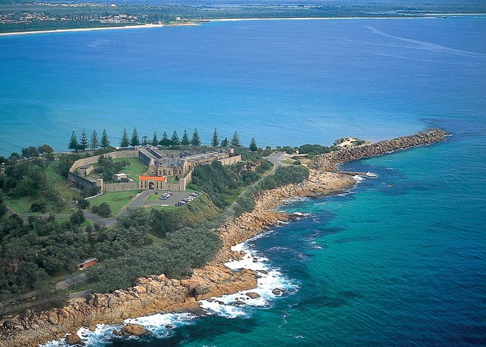 Trial Bay Gaol in Arakoon National Park (Image: Cartoscope/Office of Tourism)