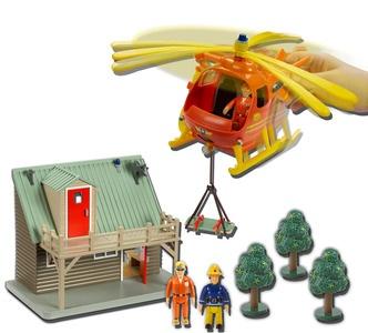 Fireman Sam - Mountain Rescue Play Set
