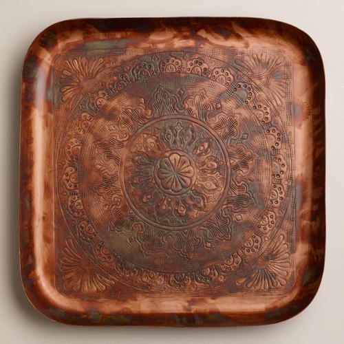Cost Plus World Market Fall 2016 Collection: 1000+ Ideas About Copper Tray On Pinterest