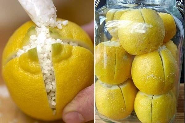 4 oldalán bevágja a citromot, majd tengeri sót tesz közé. Zseniális ötlet, kár, hogy sokan nem ismerik! - Tudasfaja.com