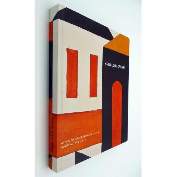 """ARNALDO FERRARI - Livro que é uma oportunidade para conhecer a obra deste, que é considerado um modernista de nova vertente, das primeiras décadas do século XX. Fartamente ilustrado com reproduções de suas pinturas. """"Este livro pretende traçar e registrar esse caminho, iniciado na figuração, transformado em geometrizações e consolidado em sínteses coerentemente conseguidas...""""ff<br /> 1350g; 26x22 cm; 210 págs.; sobrecapa acompanha capa dura; português e inglês<br />"""