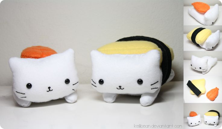 Nyanko Sushi by *KelliBean on deviantART