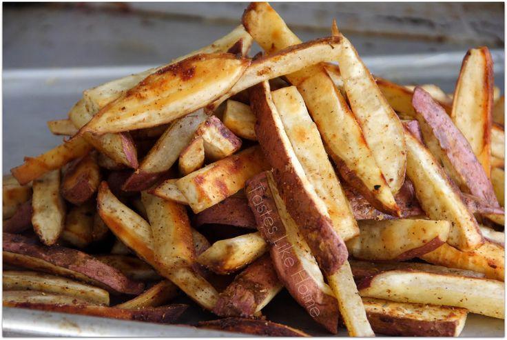White Sweet Potato Fries.. made these last night. They were Amazingggg!