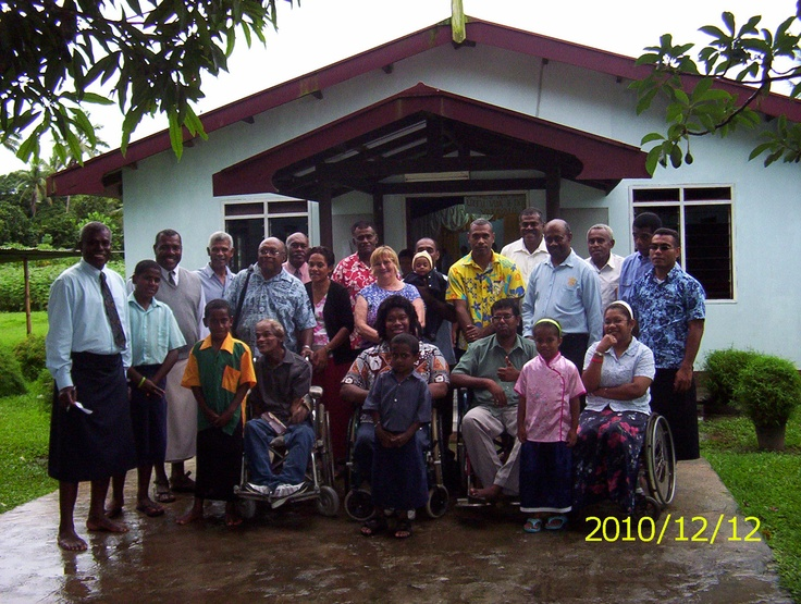 MY SISTER IN LAW TEACHES AT A SCHOOL FOR DISABLED IN SUVA.. THIS IS THE GROUP WHO CAME TO NASELAI VILLAGE FOR A SPECIAL CHRISTMAS CELEBRATION WITH HER THE FAMILY AND VILLAGERS