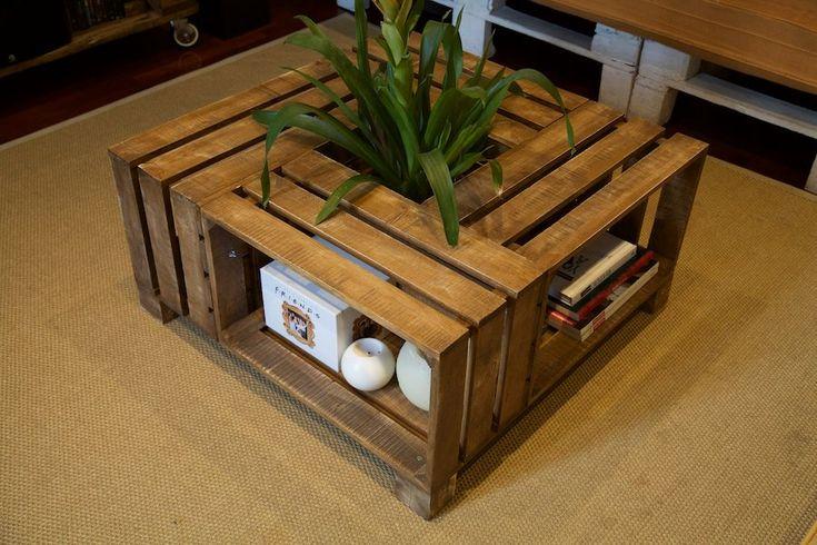 Image of Mesas de cajas de fruta - Alatriste