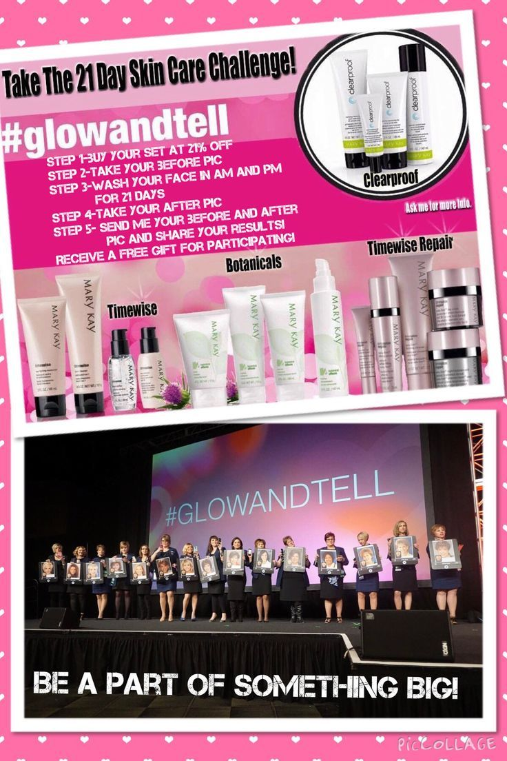 GlowAndTell Join Me In The 21 Day MaryKay Skincare Challenge Book