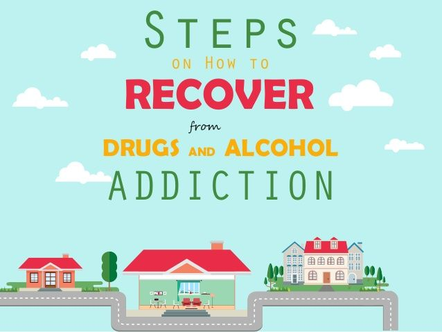 recover from drug addiction process vs Drug and alcohol withdrawal withdrawal occurs because your brain works like a spring when it comes to addiction drugs and alcohol are brain depressants that push down the spring they suppress your brain's production of neurotransmitters like noradrenaline when you stop using drugs or alcohol it's like taking the weight off the spring, a.