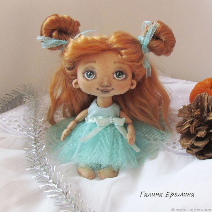 Текстильная малышка - рыжулька – купить в интернет-магазине на Ярмарке Мастеров с доставкой