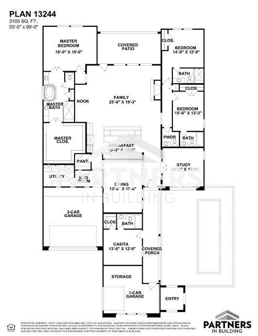 25 best partners in building images on pinterest house floor plans plan 13244 is a 3105 sqe ft 4 bedroom plan built and designed by partners in building custom home builder in texas malvernweather Gallery