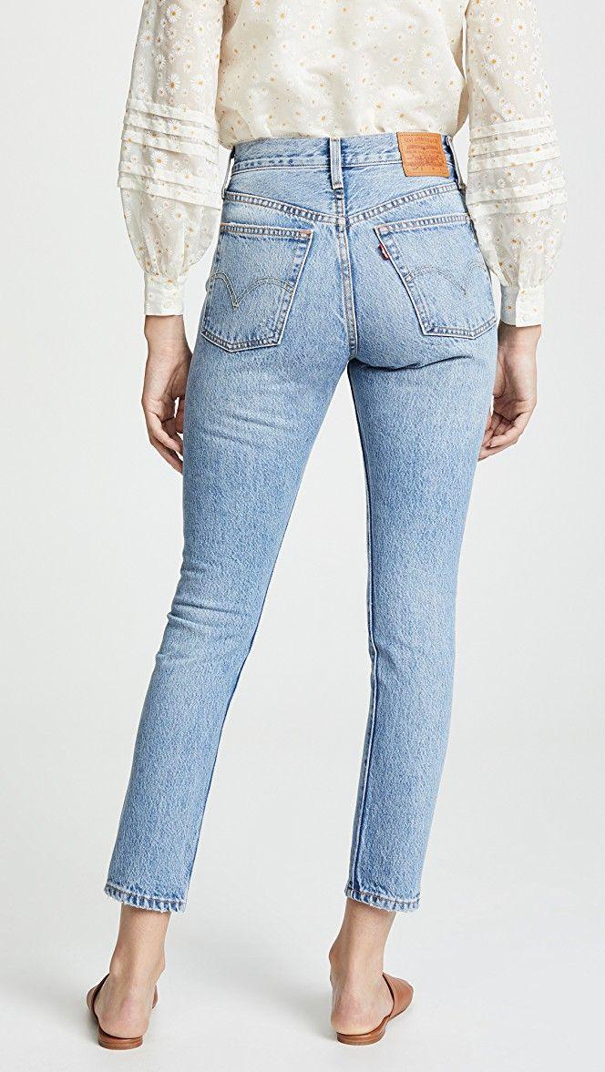 501 Skinny Jeans in 2020   Best jeans for women, Best jeans