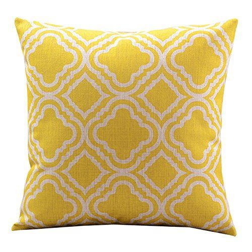 Yellow is such an under represented color in fall home decor, but is so prevalent in nature during the autumn season. Bring a little bit of fall yellow indoors to achieve a less kitschy and more calm look this autumn. - From The Home Decor Discovery Community of www.DecoandBloom.com