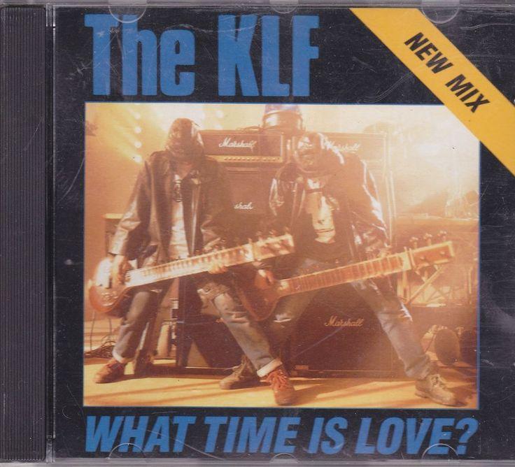KLF / What Time Is Love / Promo CD Single / 2 Mixes / 1991 Arista Records / RARE #KLF #DanceMusic