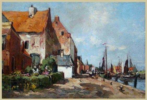 Jan van Vuuren 1871-1941. Er haven van Elburg.