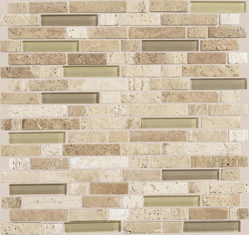 stone and glass mosaic wall tile 5 8 kitchen back splash bathroom