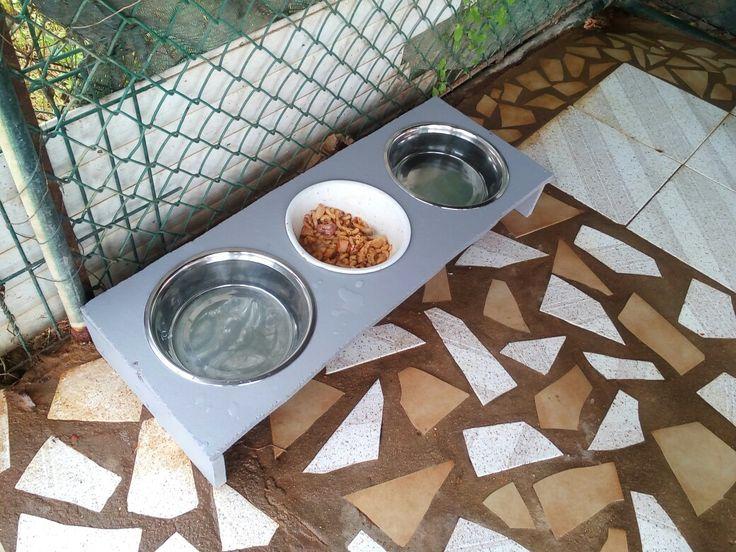 dog feeder DIY dog feeder dog food