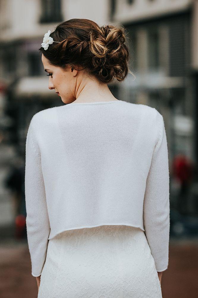veste mariée étole mariée pulls pour la mariée, pull en cachemire pandora,  accessoire de