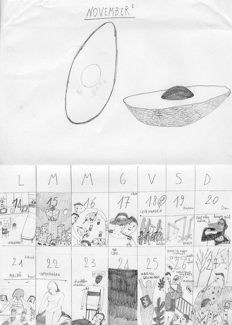 giada ganassin drawn diary