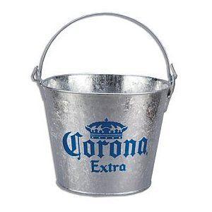 Corona Extra Galvanized Beer Bucket W/Built-In Bottle Opener - http://www.wineracksaccessories.com/corona-extra-galvanized-beer-bucket-wbuilt-in-bottle-opener/