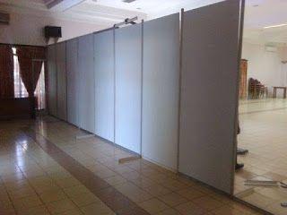 partisi pameran,stand,booth,exhibition: Pemasangan sekat di PT. CG Power System Indonesia