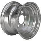 1650 lb. Load Capacity Galvanized Solid Center Steel Wheel Rim