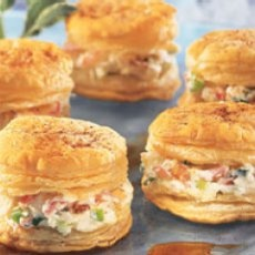 17 best images about canapes on pinterest canapes for Puff pastry canape ideas