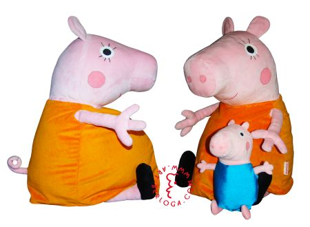 Exclusive plush toy Mother pig by Art-berloga handmade