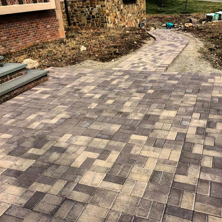 Brown Driveway Pavers : Best images about pool time decorations on pinterest