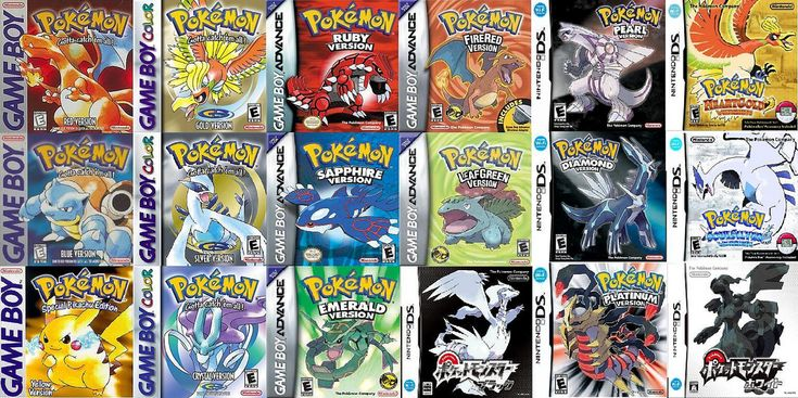 pokemon versions