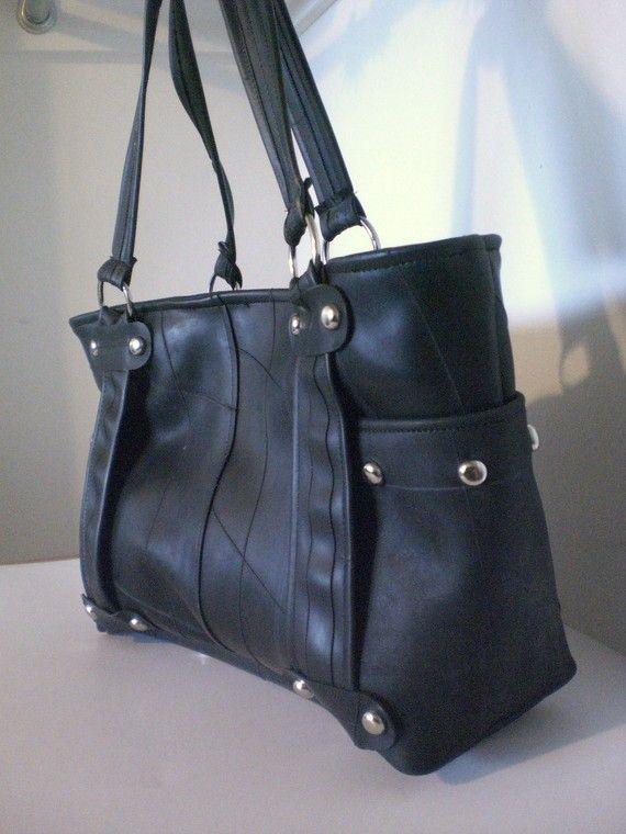 Rubber Tote bag. #purse