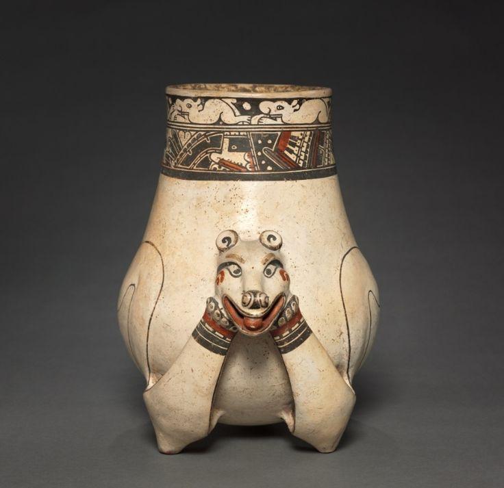 Animal Effigy Vessel, 1000-1550  Costa Rica, Southern Nicoya region, Pataky Polychrome style, 11th-16th century