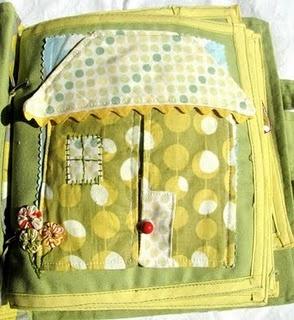 Fabric book - cute!