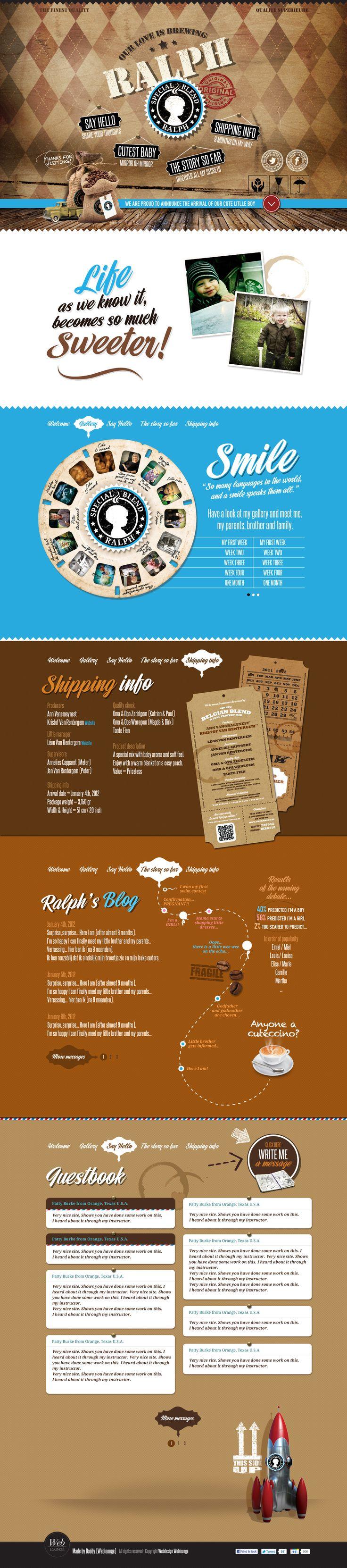 Cool Web Design, Ralph. #webdesign #webdevelopment [http://www.pinterest.com/alfredchong/]