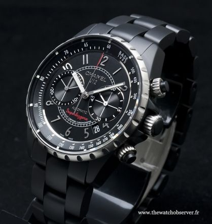 Montre de luxe pour homme Chanel J12 Superleggera Chronographe