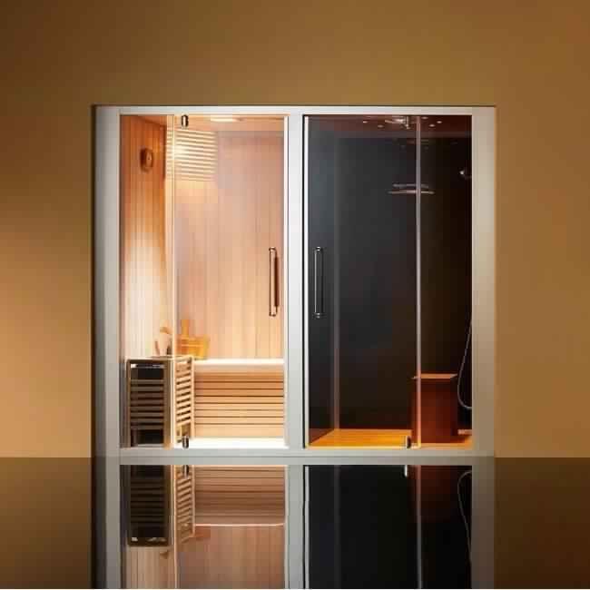#Sauna : un espace alliant confort et sécurité. Notre sélection rigoureuse de saunas vous permettra de trouver le sauna que vous imaginez. #Aquabains vous garantit un plaisir d'utilisation, à chaque fois que vous aurez besoin d'un moment de #détente et de #relaxation.