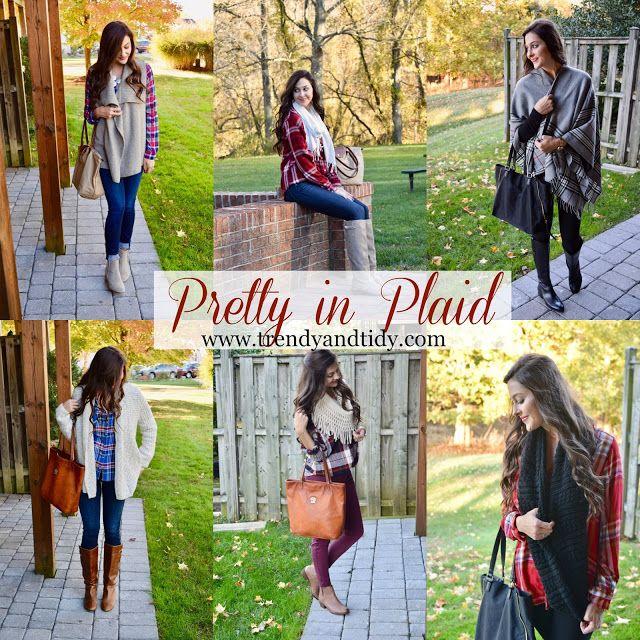Trendy & Tidy: Trendy Tuesday: Pretty in Plaid