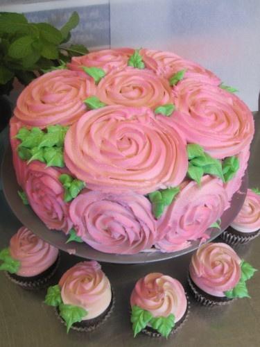 wedding episode rose cake cruelty free cupcakes gilbert arizona