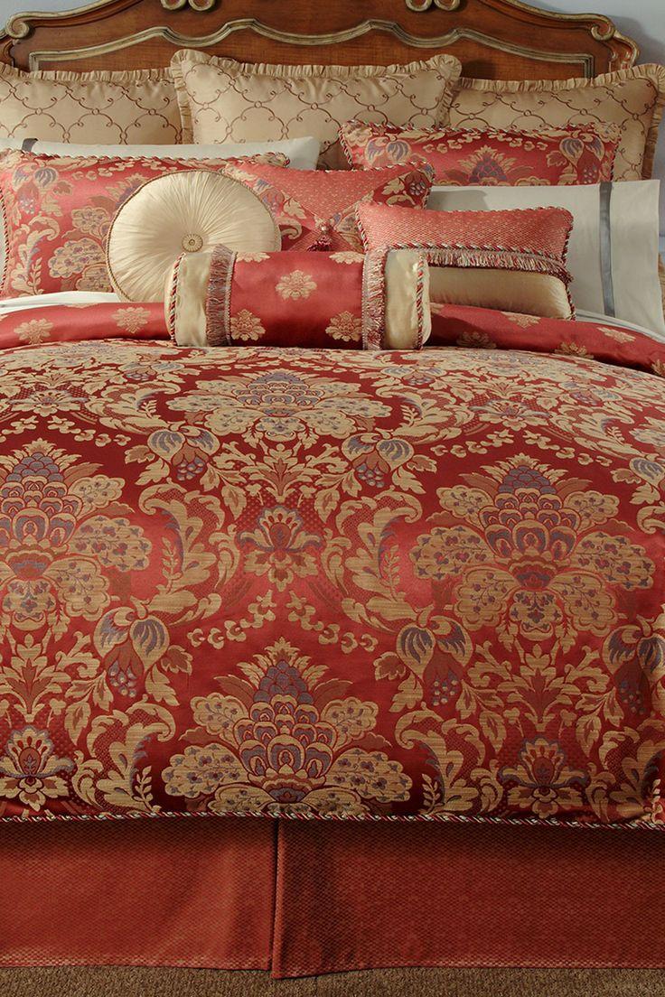 Hamilton Comforter Set - Cinnabar