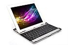 Thin Aluminum Bluetooth Wireless KeyBoard Case For iPad2 3rd Generation