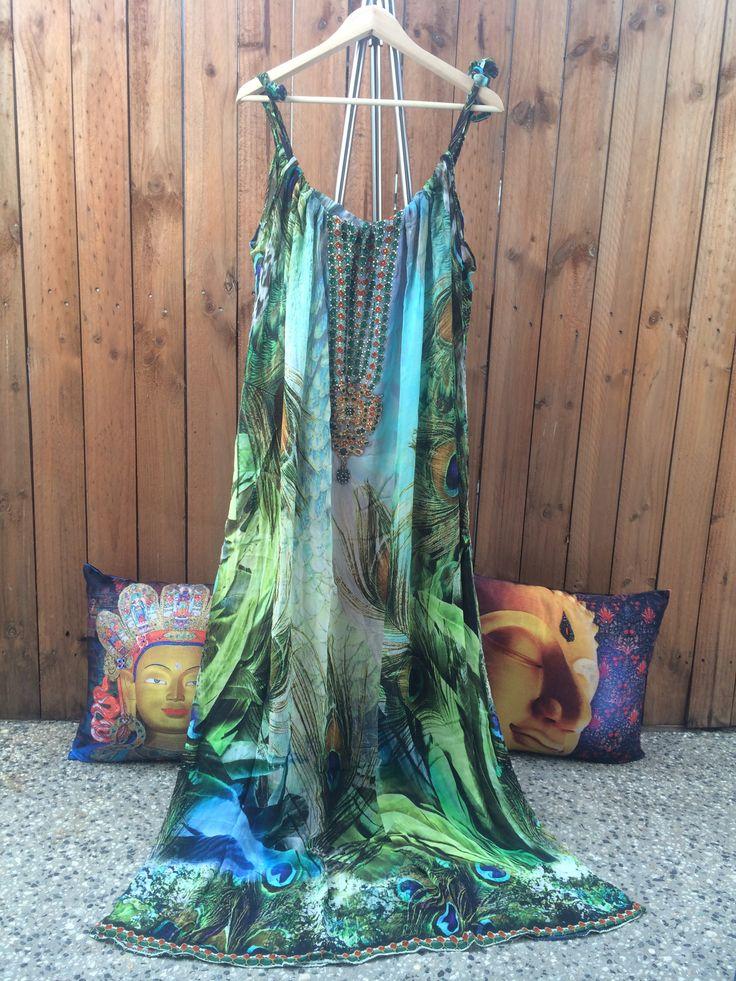 Embellished Kaftan MOR DRAWSTRING KAFTAN .Embellished with swarovski crystals .Shop @ www.embellishedkaftans.aradium.com
