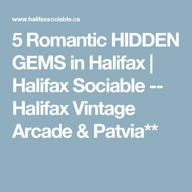 5 Romantic HIDDEN GEMS in Halifax | Halifax Sociable -- Halifax Vintage Arcade & Pavia** (has veggie options)