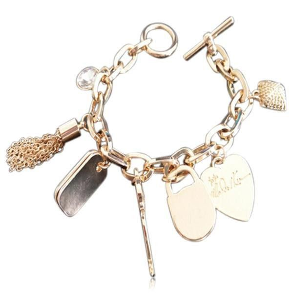 Isola Del Tesoro - Gold / Silver Vintage Treasure Bracelet