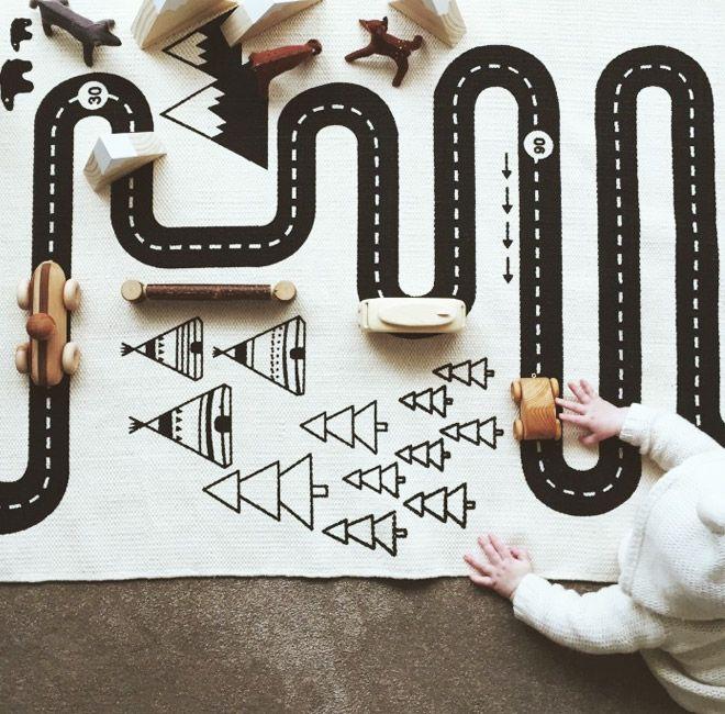 Imaginations run wild with the OyOy adventure rug! | Mum's Grapevine