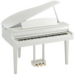 Yamaha CLP 565 GPWH Digital Piano weiß hochglanz Sparpaket #Piano #Klavier #Flügel