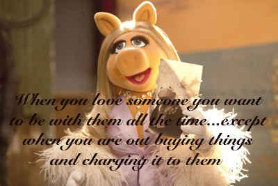 Kermit And Miss Piggy Quotes 17 Best images about T...