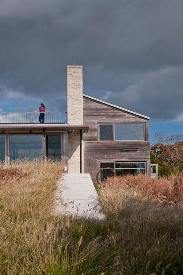 Residence Up-Over-Between House / by Hutker Architects/ Edgartown, Martha'sVineyard, Massachusetts, USA,
